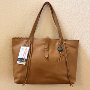 Sak Heritage Leather Tote